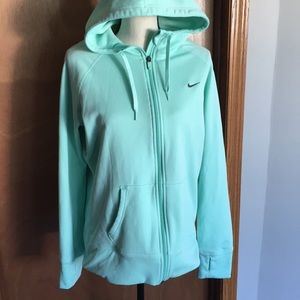 Nike therma- fit zip up